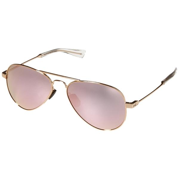 アンダーアーマー メンズ アクセサリー サングラス アイウェア Gloss Rose Gold Pink UA Mirror Getaway ギフト プレゼント ご褒美 格安SALEスタート Clear M 全商品無料サイズ交換
