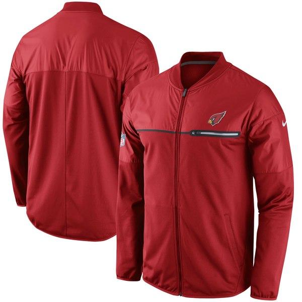 ナイキ メンズ ジャケット&ブルゾン アウター Arizona Cardinals Nike Elite Hybrid Performance Jacket Cardinal