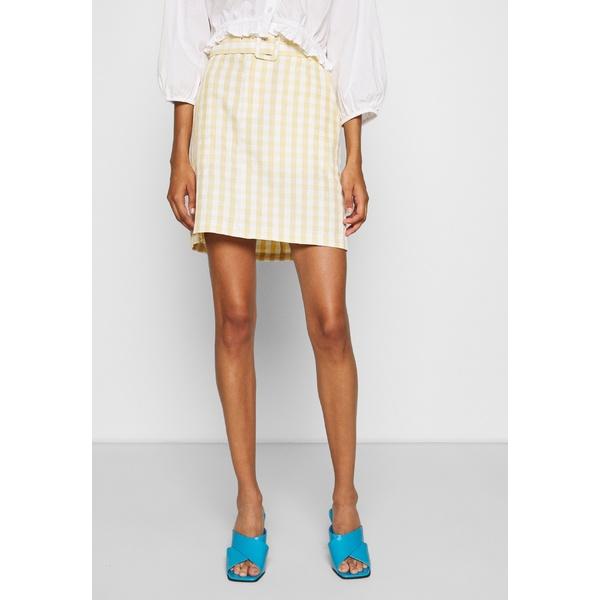 ミニマム レディース ボトムス スカート yellow 全商品無料サイズ交換 国産品 skirt 専門店 SKIRT A-line dfnv0210 NOVARA -