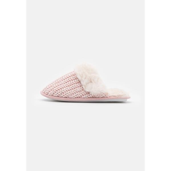 ニュールック レディース シューズ サンダル light pink 全商品無料サイズ交換 新作からSALEアイテム等お得な商品満載 dfnv0210 MULE NEQUIN Slippers - 春の新作 SEQUIN