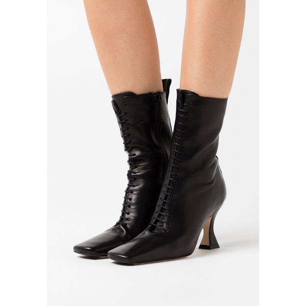 <title>ミスタ レディース シューズ ブーツ レインブーツ black 全商品無料サイズ交換 YANA - Lace-up ankle boots 安い 激安 プチプラ 高品質 dfnv0210</title>