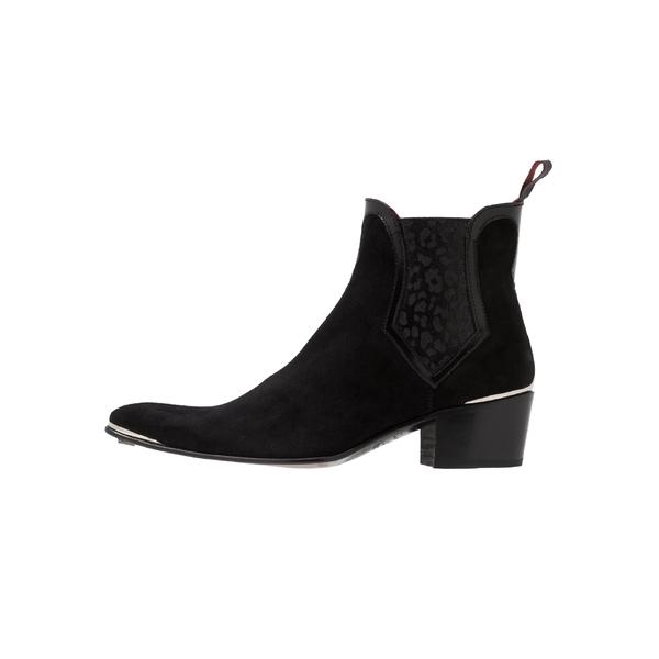ジェフリーウェスト 営業 メンズ シューズ 推奨 ブーツ レインブーツ black 全商品無料サイズ交換 SYLVIAN NEW ankle dfnv0217 CHELSEA boots Classic -