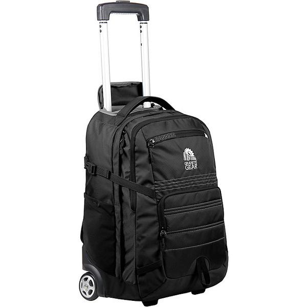 グラナイトギア メンズ ボストンバッグ バッグ Granite Gear Haulsted Wheeled Backpack Black
