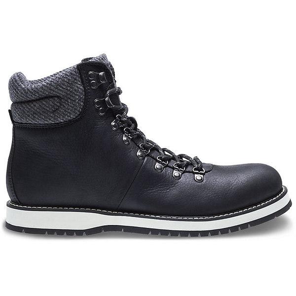 ウルヴァリン メンズ ハイキング スポーツ Wolverine Men's Sidney 6 Inch Hiker Boot Black Leather