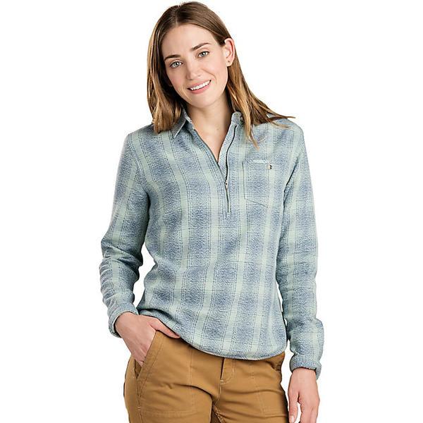 トードアンドコー レディース シャツ トップス Toad & Co Women's Bodie 1/4 Zip Shirt Arctic