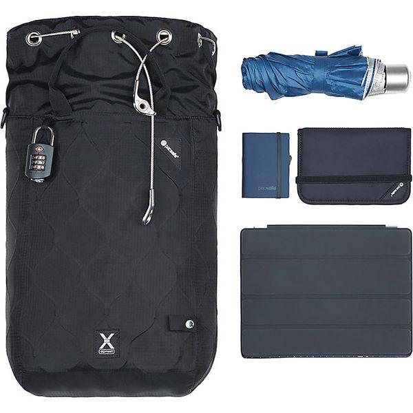 パックセーフ メンズ バックパック・リュックサック バッグ Pacsafe Travelsafe X15 Anti-Theft Portable Safe & Pack Insert Black