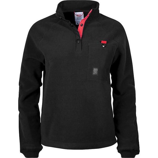トポ・デザイン レディース ジャケット&ブルゾン アウター Topo Designs Women's Mountain Fleece Jacket Black