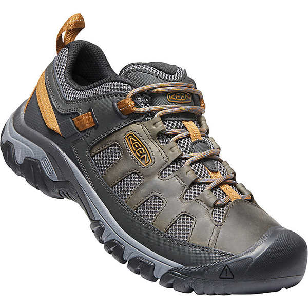 キーン メンズ ハイキング スポーツ Keen Men's Targhee Vent Shoe Raven / Bronze Brown