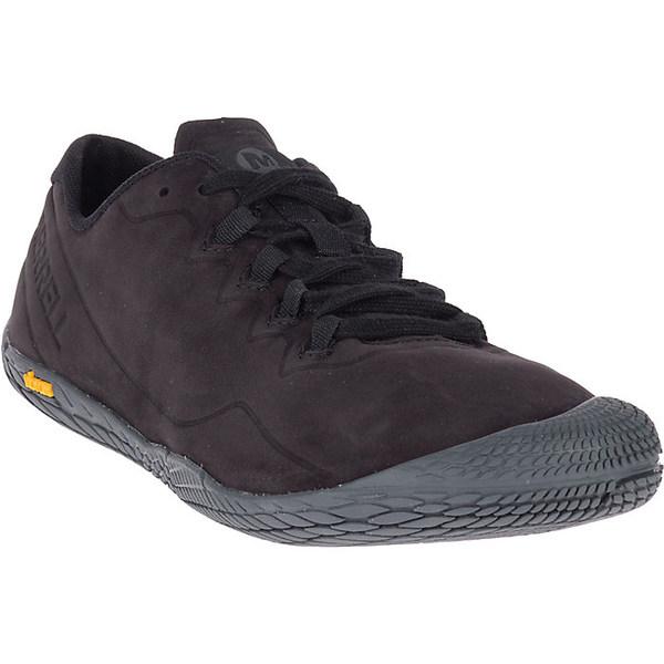 メレル メンズ ハイキング スポーツ Merrell Men's Vapor Glove 3 Luna Leather Shoe Black