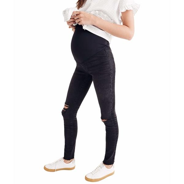 注目の メイドウェル Skinny Sea レディース デニムパンツ in ボトムス Maternity Over-the-Belly Skinny Jeans in Black Sea Black Sea, 書道用品専門店廣悦堂:0994ecf0 --- promotime.lt