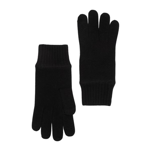 ギフト メーカー公式 ポートラノ メンズ アクセサリー 手袋 全商品無料サイズ交換 Cashmere Gloves BLACK
