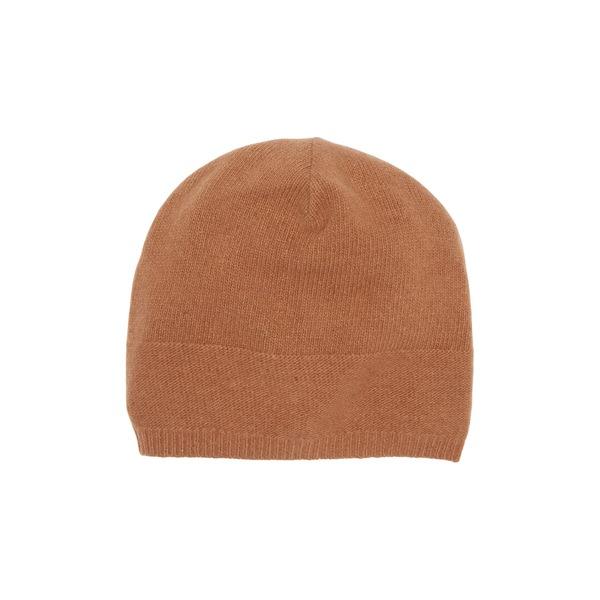 ポートラノ レディース 百貨店 アクセサリー 帽子 税込 TOFFEE Knit Cashmere Slouchy Beanie 全商品無料サイズ交換