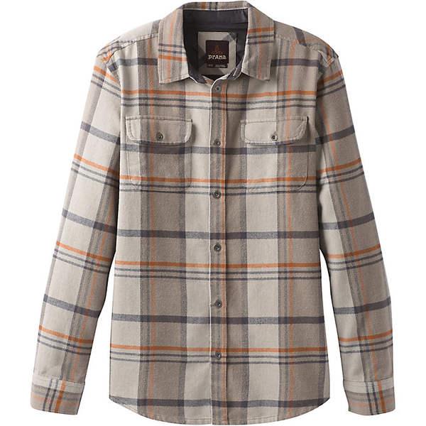 プラーナ メンズ シャツ トップス Prana Men's Lybeck LS Shirt Mud
