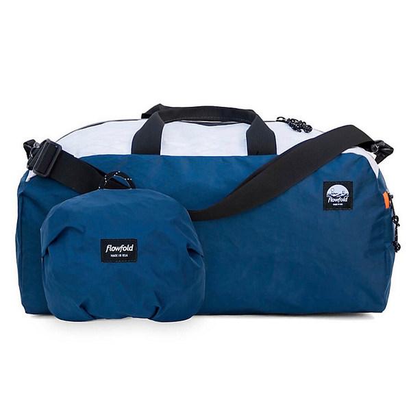 フローフォールド レディース ボストンバッグ バッグ Flowfold Nomad Duffle Bag Navy / White / Orange