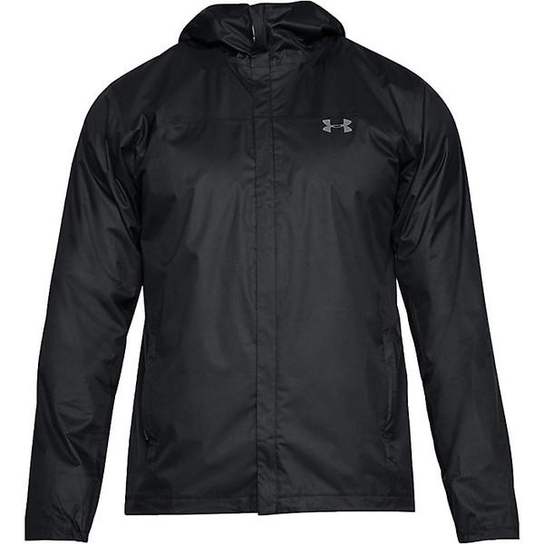 アンダーアーマー レディース ジャケット&ブルゾン アウター Under Armour Men's UA Overlook Jacket Black / Graphite