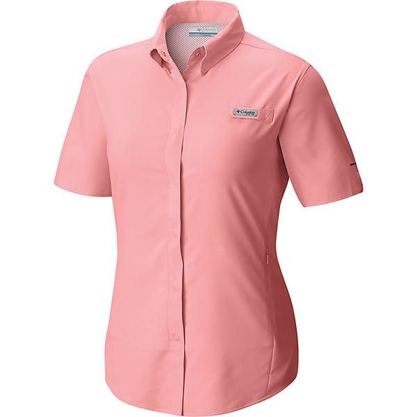 コロンビア レディース シャツ トップス Columbia Women's Tamiami II SS Shirt Tiki Pink