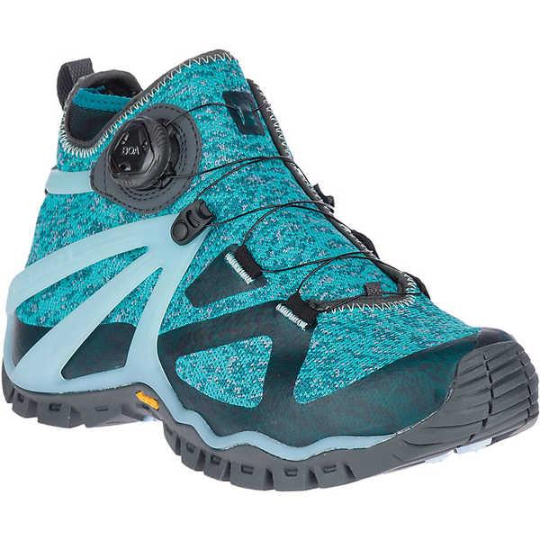 <title>メレル レディース スポーツ 公式ストア ハイキング Shaded Spruce 全商品無料サイズ交換 Merrell Women's Rove Mid Knit Shoe</title>