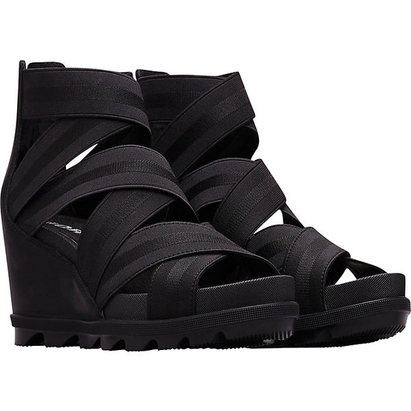 ソレル レディース サンダル シューズ Sorel Women's Joanie II Strap Sandal Black