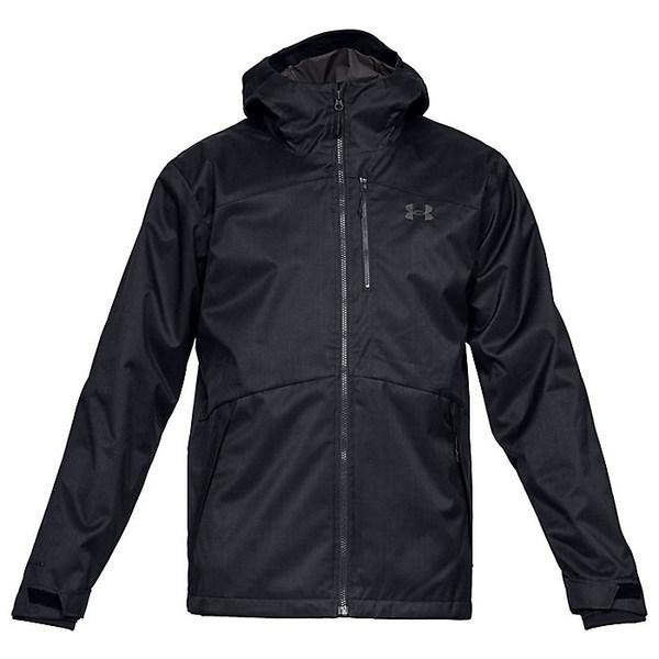 アンダーアーマー メンズ ジャケット&ブルゾン アウター Under Armour Men's Porter 3-IN-1 Jacket Black / Black / Charcoal