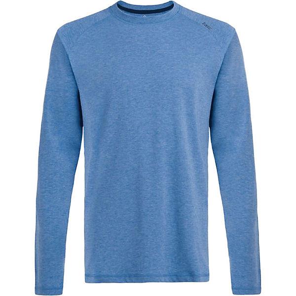 タスクパフォーマンス メンズ フィットネス スポーツ Tasc Men's Carrollton LS Tee Nautical Blue Heather