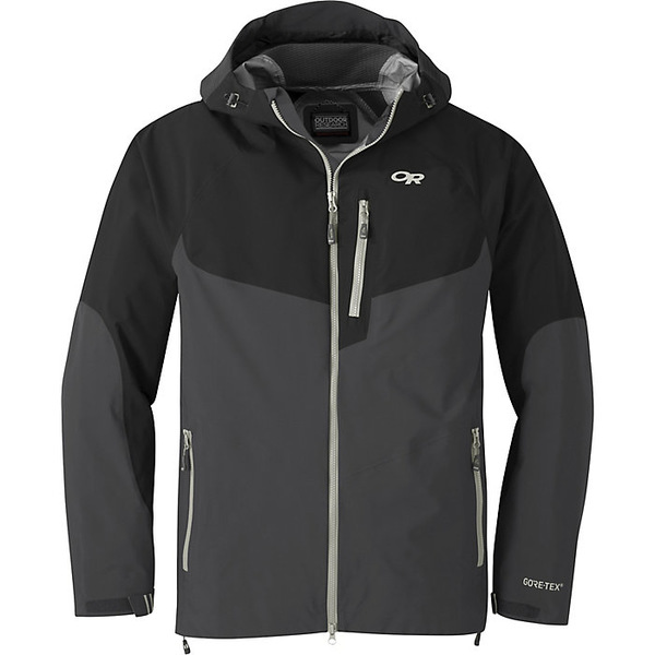 アウトドアリサーチ メンズ ジャケット&ブルゾン アウター Outdoor Research Men's Hemispheres Jacket Storm / Black