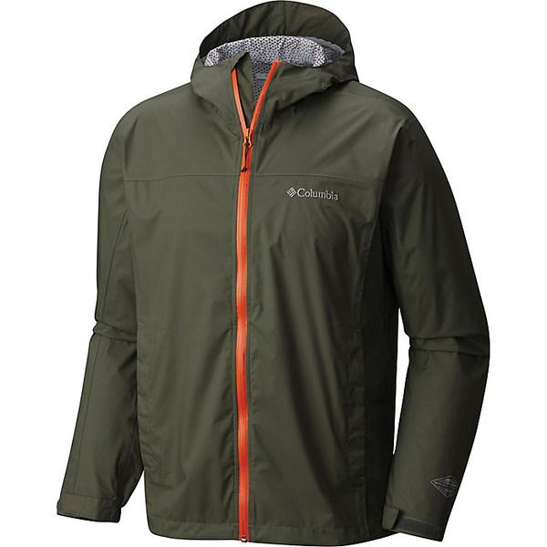 コロンビア メンズ ジャケット&ブルゾン アウター Columbia Men's EvaPOURation Jacket Cypress
