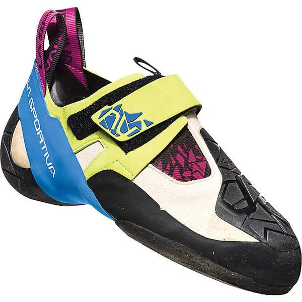 ラスポルティバ レディース サイクリング スポーツ La Sportiva Women's Skwama Climbing Shoe Apple Green / Cobalt Blue