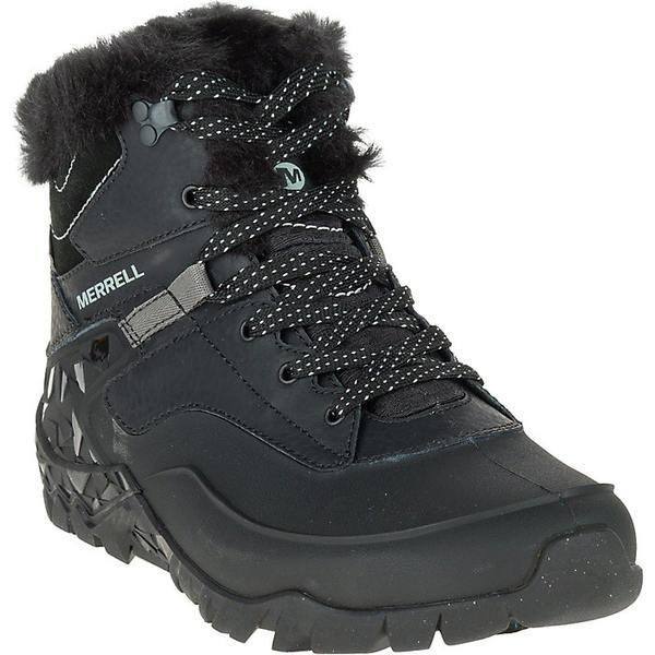 メレル レディース ハイキング スポーツ Merrell Women's Aurora 6 Ice+ Waterproof Boot Black