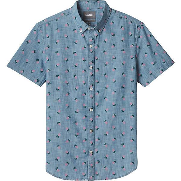 ボノボス メンズ シャツ トップス Bonobos Men's Riviera Shirt Pineapple Drive - Pink Gin
