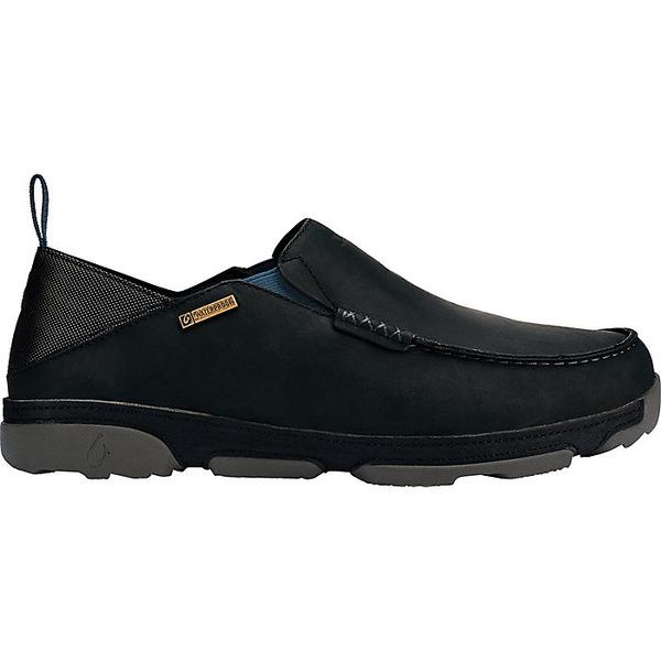オルカイ メンズ スニーカー シューズ OluKai Men's Na'i WP Shoe Black / Black