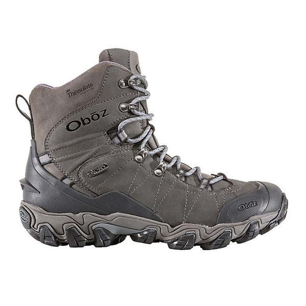オボズ メンズ ブーツ&レインブーツ シューズ Oboz Men's Bridger Insulated BDry 8IN Boot Dark Shadow
