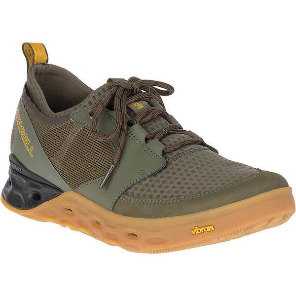 メレル メンズ ブーツ&レインブーツ シューズ Merrell Men's Tideriser Lace Shoe Olive