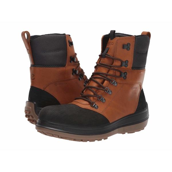 エコー メンズ ブーツ&レインブーツ シューズ Roxton GORE-TEX Primaloft Heavy Winter Boot Black/Amber