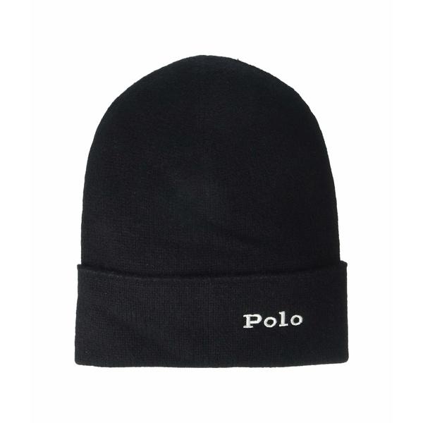 ラルフローレン レディース 帽子 アクセサリー Cashmere Cuff Hat Black