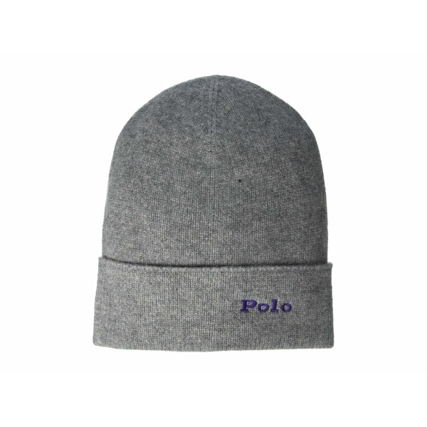 ラルフローレン レディース 帽子 アクセサリー Cashmere Cuff Hat Fawn Grey Heather