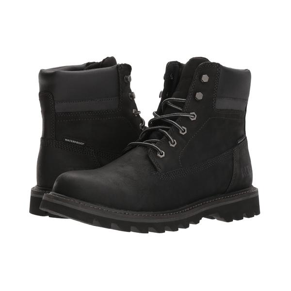 キャタピラー メンズ ブーツ&レインブーツ シューズ Deplete Waterproof Black