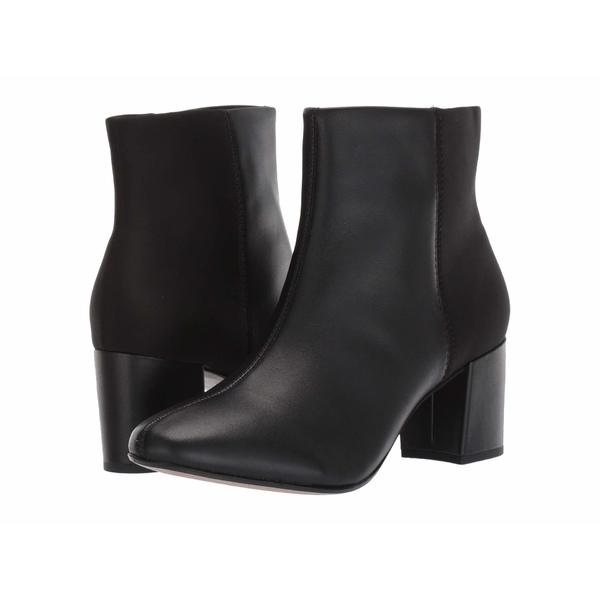 クラークス レディース ブーツ&レインブーツ シューズ Chantelle Stone Black Leather/Synthetic Combi