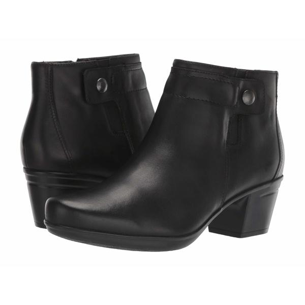 クラークス レディース ブーツ&レインブーツ シューズ Emslie Jada Black Leather