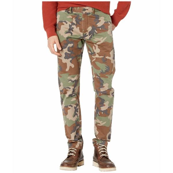 ジェイクルー メンズ カジュアルパンツ ボトムス 484 Slim-Fit Pant in Camouflage Broken-In Chino Khaki Grey