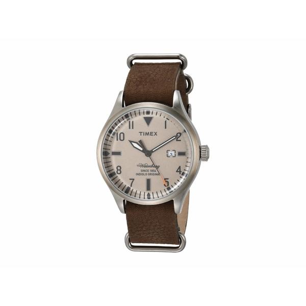 タイメックス メンズ 腕時計 アクセサリー Waterbury Brown