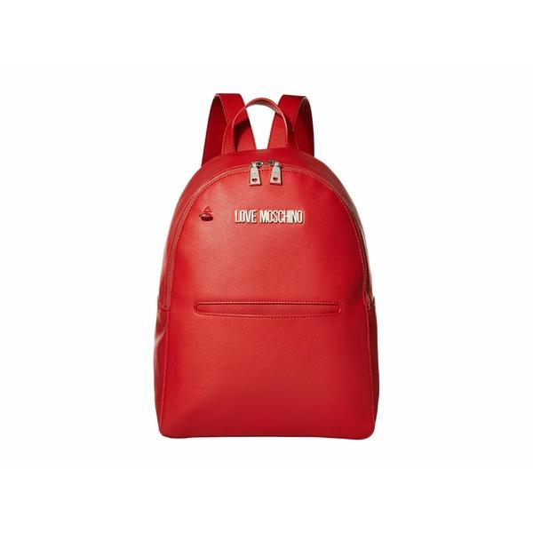 ラブ モスキーノ レディース バックパック・リュックサック バッグ 2-in-1 Backpack Red