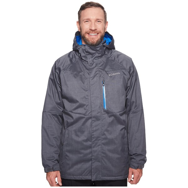 コロンビア メンズ コート アウター Big & Tall Alpine Action Jacket Graphite/Super Blue