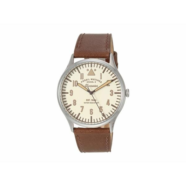 フォッシル メンズ 腕時計 アクセサリー 42 mm Forrester FS5629 Tan