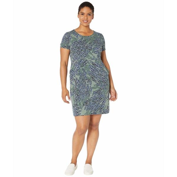 ニックプラスゾーイ レディース ワンピース トップス Plus Size Leaf Direction Dress Multi