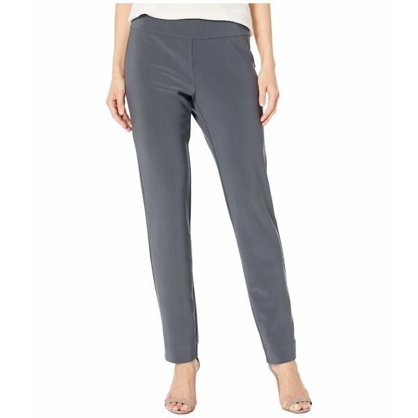 クレイジーラリー レディース カジュアルパンツ ボトムス Microfiber Long Skinny Dress Pants Grey
