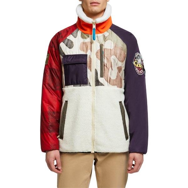 ウール リッチ メンズ ジャケット&ブルゾン アウター Woolrich x Griffin Second Life Genuine Shearling Down Jacket Camouflage