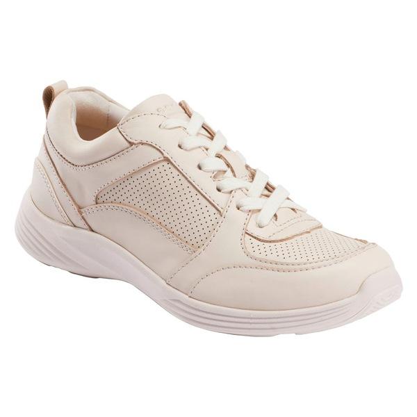 アース レディース スニーカー シューズ Earth Scenic Vapor Sneaker (Women) Cream Pink Leather
