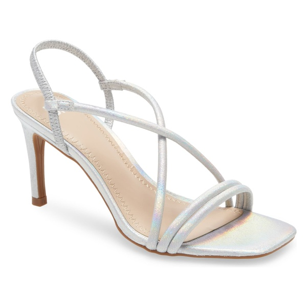 ビーピー レディース サンダル シューズ BP. Billy Strappy Sandal (Women's Shoes) Silver Irridescent Pu