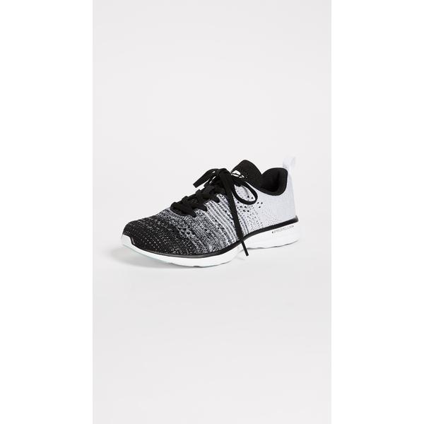 エーピーエル レディース スニーカー シューズ TechLoom Pro Sneakers Black/Heather Grey/White