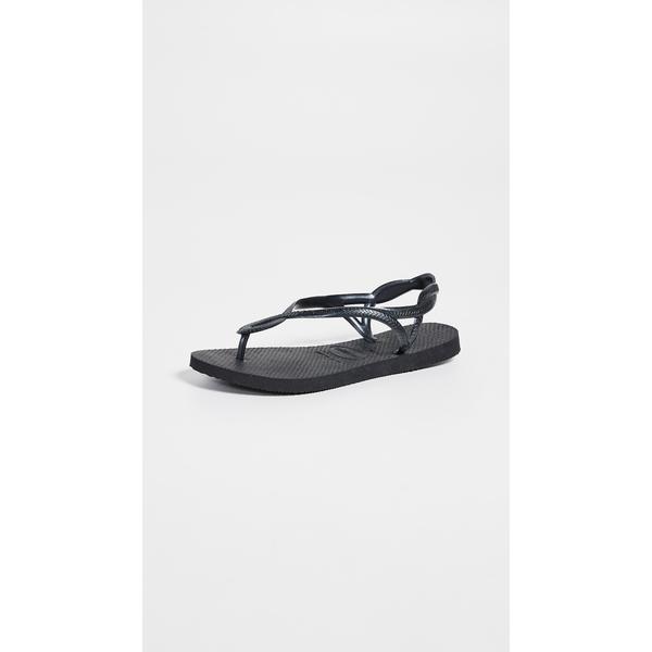 ハワイアナス レディース サンダル シューズ Luna Sandals Black